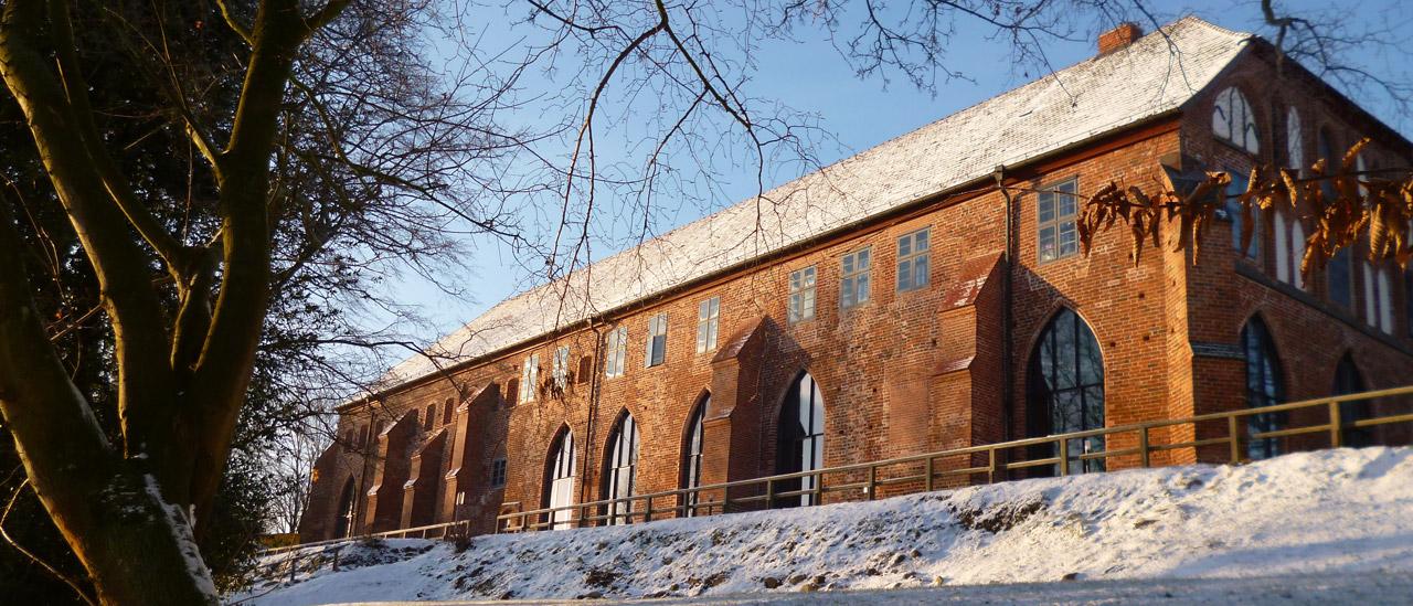 Winter - Klosteransicht vom Schaalsee